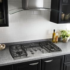 """You'll be cooking in style with the Whirlpool gold 30"""" cooktop."""