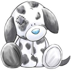 Splodge... the clumsy Dalmatian who's always in a spot of bother... but knows you'll be there to look out for him.