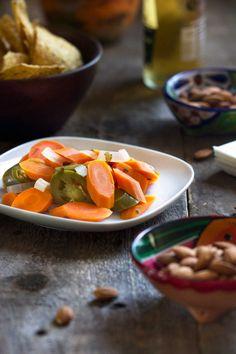 Аутентичные мексиканские маринованные морковь.  www.keviniscooking.com