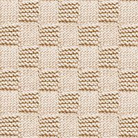 Garter stitch Blocks Knit Purl stitch, free knitting stitch pattern. The stitch can be used for scarves, shawls, dishcloths, pillows and more.