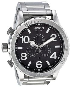 01ac06a30e cool Nixon Men s A083-000 Stainless-Steel Analog Black Dial Watch – Cool  Watches