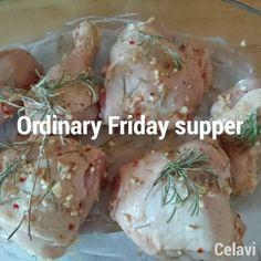 Just an ordinary Friday supper. #chicken #bakedpotato #salad #instafood #instafood #foodporn