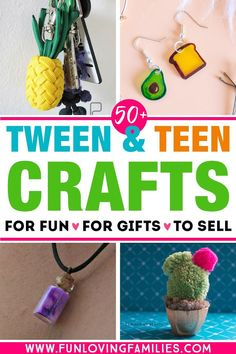 Share these tween craft ideas with the older kids you know who love to create! So many tween DIY ideas they'll love. Share these tween craft ideas with the older kids you know who love to create! So many tween DIY ideas they'll love. Fun Crafts For Teens, Fun Diy Crafts, Diy For Teens, Creative Crafts, Diy For Kids, Tween Craft, Wood Crafts, Decor Crafts, Diy Projects For Teens