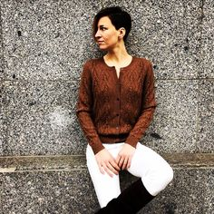 On Sale #aymara #knitwear #babyalpaca #coffee #cardigan 108,00€ available at https://www.goodshaus.com/AYMARA-Strickjacke-Emma-Coffee