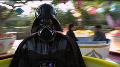 Darth Vader at Disney