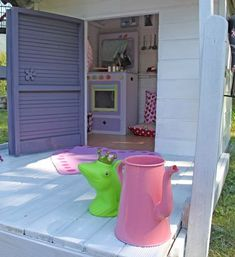 la cabane des petits... - laetibricole Home And Deco, Playground, Decoration, Shed, Outdoor Structures, House, Fairy, Board, Inspiration