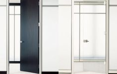 Many door styles are available. Tall Cabinet Storage, Locker Storage, Modular Walls, Office Furniture, Doors, Architecture, Home Decor, Style, Arquitetura