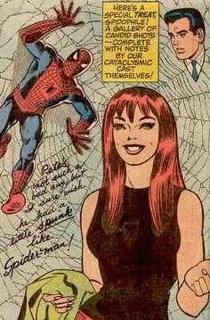 Mary Jane Watson comic book photos   SPIDER-MAN AND MARY JANE WATSON   Comic Book Artwork
