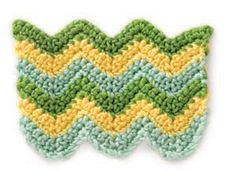 Stitchfinder : Crochet Stitch: Striped Chevrons : Frequently-Asked Questions (FAQ) about Knitting and Crochet : Lion Brand Yarn