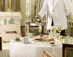 BEST DINING - Claridge's Best Luxury Hotel and Dining in London. Reservations Required. Tube- Claridge's is 5-minute walk from Bond Street station on the Central and Jubilee lines.