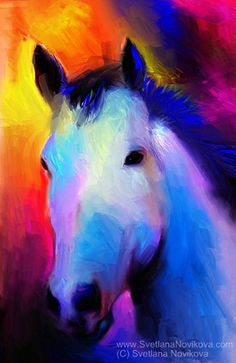 white horse painting | Recent Photos The Commons Getty Collection Galleries World Map App ...