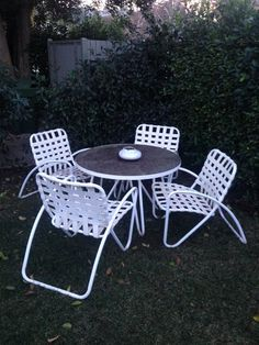 Vintage Brown Jordan Outdoor Dining Table U0026 Chairs In Sherman Oaks, Los  Angeles, CA