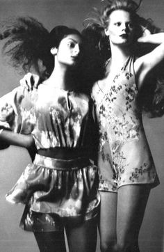 Photo by Jean Jaques Bugat, 1971. Perfect outfits.