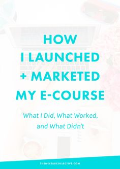 Almost exactly one month ago today, I launched my first e-course, Pinfinite Growth. The course is designed to help bloggers lay a strong foundation for their site and then guides them through several modules of Pinterest strategies aimed at bringing more of the right visitors to their blogs. I've been blogging and running my own business …