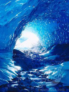 Blue Ice Cave, Glacier Bay National Park, Alaska