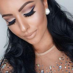 Amrezy is my makeup idols. Makeup Goals, Love Makeup, Makeup Tips, Classy Makeup, Pretty Makeup, Beauty Make-up, Beauty Hacks, Hair Beauty, Stunning Makeup