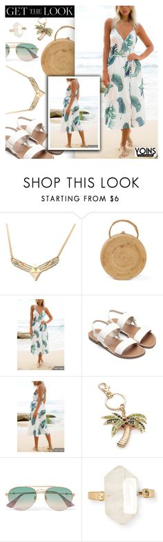 """""""Yoins"""" by dressedbyrose ❤ liked on Polyvore featuring New Directions, Gucci, Aéropostale, yoins, yoinscollection and loveyoins"""