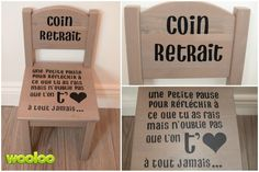 A removal chair with the wonderful touch of Marja! Montessori, Deco Gamer, Organized Mom, Positive Attitude, Diy Crafts For Kids, Classroom Management, Learning Activities, Kids Bedroom, Playroom