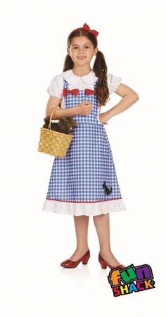 Fun Shack Kids Burglar Granny Costume Childrens World Book Day Character Outfit Medium