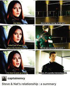 I love Steve & Natasha's relationship