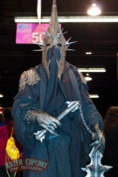 Lord of the Nazgul, Witch King of Angmar from Lord of the Rings #cosplay | WonderCon 2012