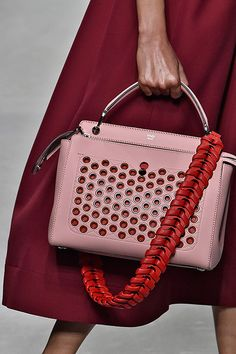Fendi Bag Straps Spring 16 Show Review