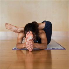 hip opening stretch #yoga