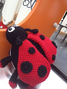 Amigurumi Ladybug:Dotty Free Download Pattern
