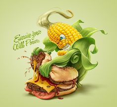 Choose to live healthy on Behance