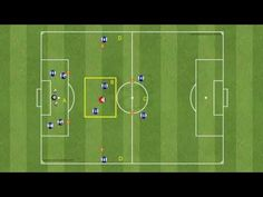 Set up: Pitch cones; Organization: Passing drill is concived so that all three game-lines are positioned in it. The drill starts from the posi. Football Youtube, Passing Drills, Marketing Calendar, Soccer Drills, Green Day, Positivity, Tv, Sports, David