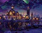 interactive Christmas Village