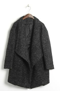 Cool dark grey coat