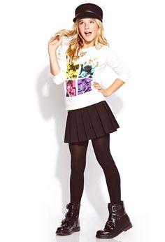 The Beatles Sweatshirt (Kids)   FOREVER21 girls - 2000109768