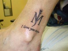 michael jackson lyric tattoo - Google Search
