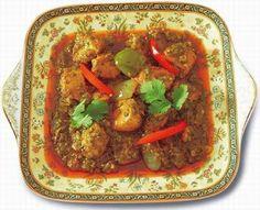 Chicken Jalfrezi Recipe - Pakistani Main Course Chicken/Bird Dish - Fauzia's Pakistani Recipes - The Extraordinary Taste Of Pakistan