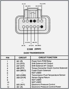 1993 E4od Diagram - All Diagram Schematics