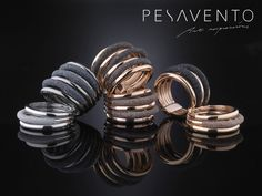 Ga je voor zwart of bruin? #Pesavento is te koop bij Rob Lanckohr, Atelier voor Juwelen. www.lanckohr.nl