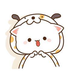 Cute Kawaii Animals, Cute Animal Drawings Kawaii, Kawaii Cat, Kawaii Drawings, Cute Cartoon Images, Cute Cartoon Wallpapers, Cute Images, Chibi Cat, Cute Chibi