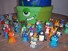 Personagens Slugs (tamanho pequeno) | Painéis e Afins | Elo7