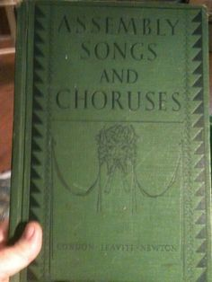 'Assembly Songs and Choruses Pub1929' is going up for auction at 10pm Sun, Jul 21 with a starting bid of $5.