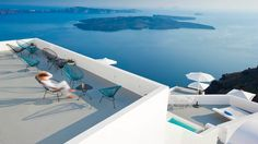 Lounge over the ocean