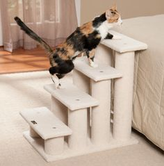 1000 images about cat climbing stairs on pinterest cat for Cat tree steps