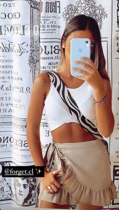 Teen Fashion Outfits, Cute Fashion, Urban Fashion, Womens Fashion, Cute Casual Outfits, Summer Outfits, Teenager Outfits, Diy Clothes, Beachwear