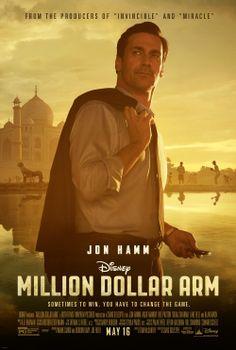 "John Hamm Million Dollar Arm   ... Million Dollar Arm "", nova produção da Walt Disney Pictures"