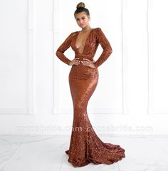 This beautiful Sexy Deep V-Neck Long Sleeves Mermaid Prom Dress will make your guests say wow. The V-neck bodice is thoughtfully lined, and the skirt with Sequined to provide the airy, flatter look of . Prom Dresses Long With Sleeves, Prom Dresses For Sale, Plus Size Prom Dresses, Mermaid Prom Dresses, Party Dresses For Women, Long Sleeve Mermaid Dress, Dress Sale, Gown Suit, Custom Dresses