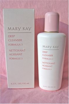 Mary Kay Deep Cleanser  Formula 3 for Oily Skin -- This is an Amazon Affiliate link. Visit the image link more details.