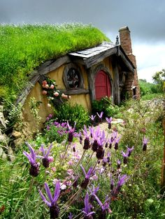 Hobbit House in Rotorua, New Zealand