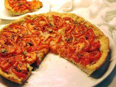 Νηστίσιμη (Η ελληνική πίτσα) Υλικά για την ζύμη 2 κούπες του νες καφέ αλεύρι 1 φακελακια μαγιά 1 κουταλιά του γλυκού καλά γεμάτη αλάτι ... Vegan Vegetarian, Vegetarian Recipes, Pizza Pastry, Greek Recipes, Vegetable Pizza, Family Meals, Banana Bread, Food And Drink, Favorite Recipes