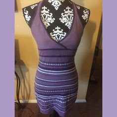 Guess Summer Halter Dress Guess Sweater Halter Dress. Dress is very flattering, cool, and fits height below 5'6 best. Dress was only worn once, and is in great condition, without pilling. Guess Dresses