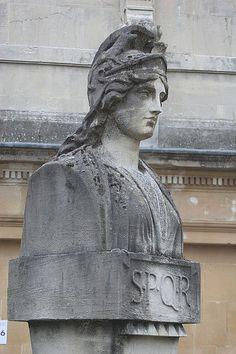 half statue